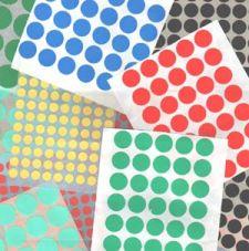 Markierungspunkte aus Papier auf Rolle - Ø 30 mm