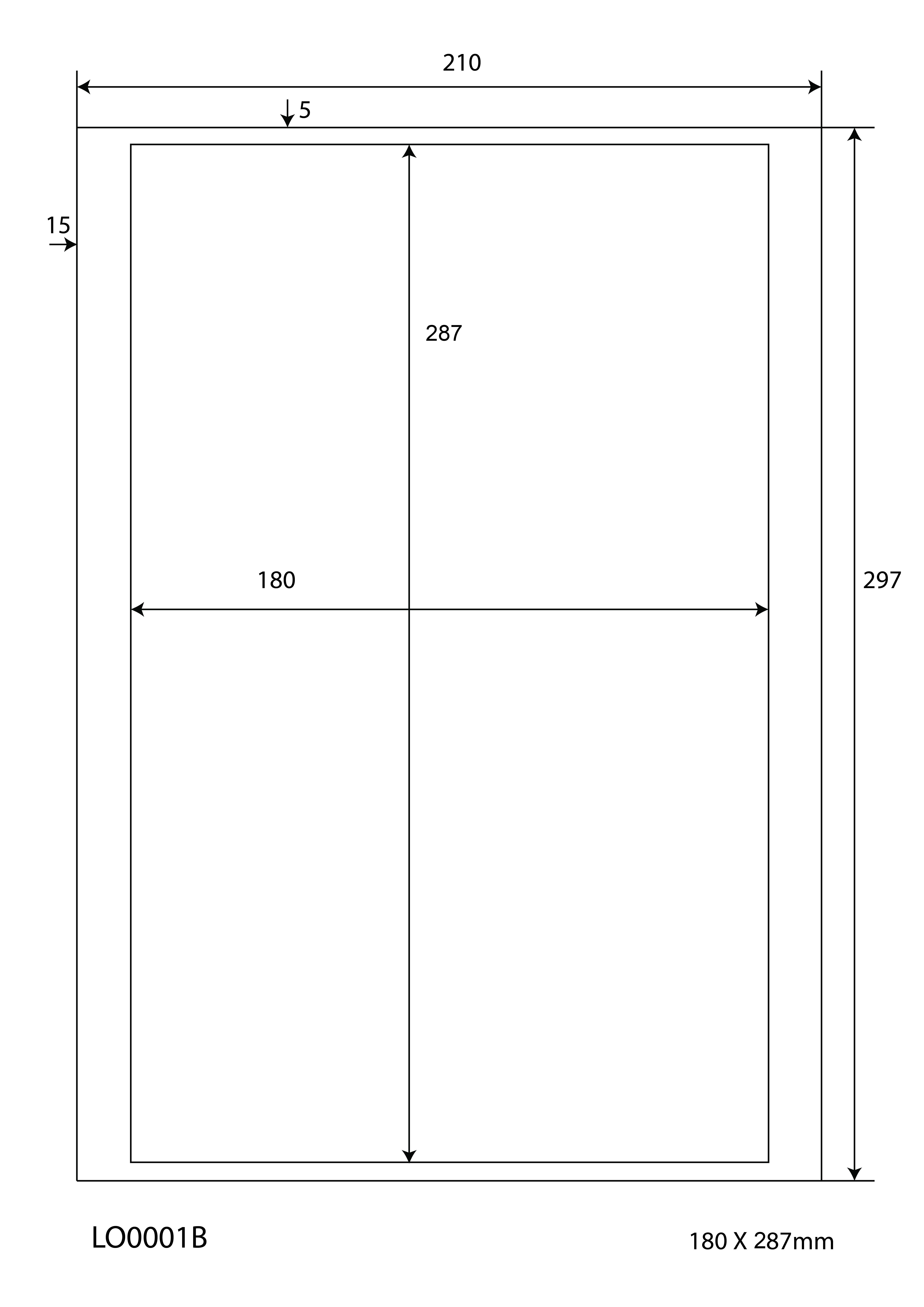 Klebeetiketten DIN A4 weiß 76,2x46,4mm 100 Blatt Laser Inkjet Kopierer