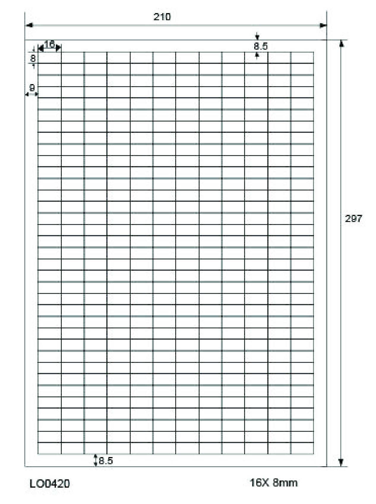 1000 Blatt Laser Inkjet Kopierer Klebeetiketten DIN A4 weiß 76,2x46,4mm